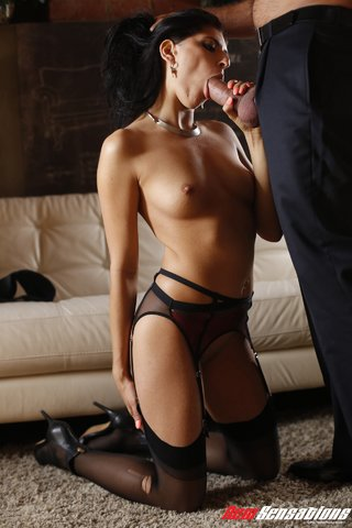 aroused brunette temptress skinny