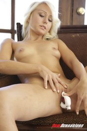 voluptuous blonde minx seen