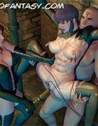 Fantasy bondage art comics. Devil Incantation 2 by Feather.