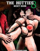 Bdsm art stories. The Hotties Next Door 8 by Predondo.