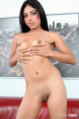 black haired latina sucks