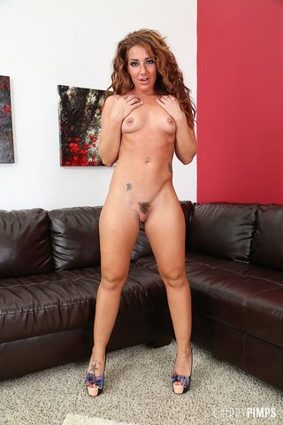 brunette small tits furry