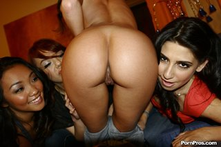 four kinky girls shares