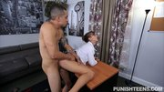 brunette boss fucks young