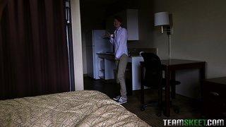 bed, teen, tiny, uniforms