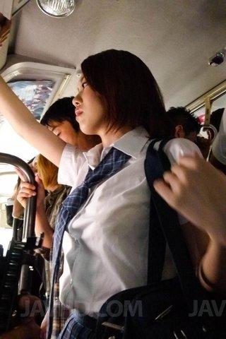 japanese asian bus fuck