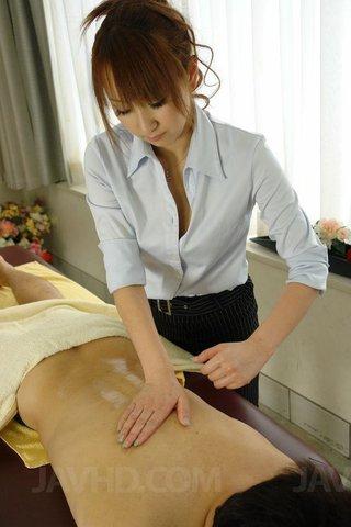 asian japanese oil massage