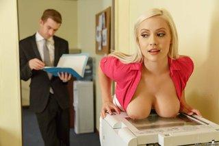 blonde office