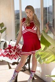 uniform blonde cheerleader