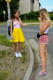brunette russian teen lesbian