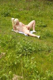 blonde ukrainian girl