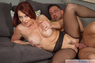 hot mature mom redhead