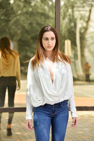 brunette teen babe
