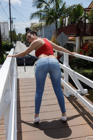 innocent ass tight jeans