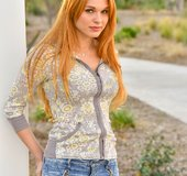 Blonde redhead milf