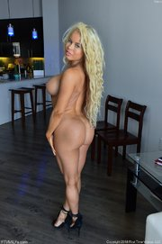 blonde fit milf