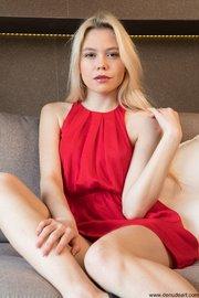 erotic slim blonde