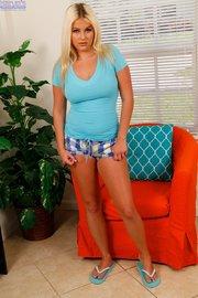 blonde striptease