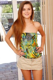 american brunette teen amateur