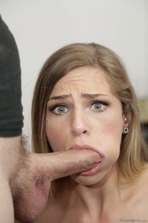 Brunette throat swallow - XXXonXXX - Pic 10