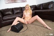 american blonde teen sybian