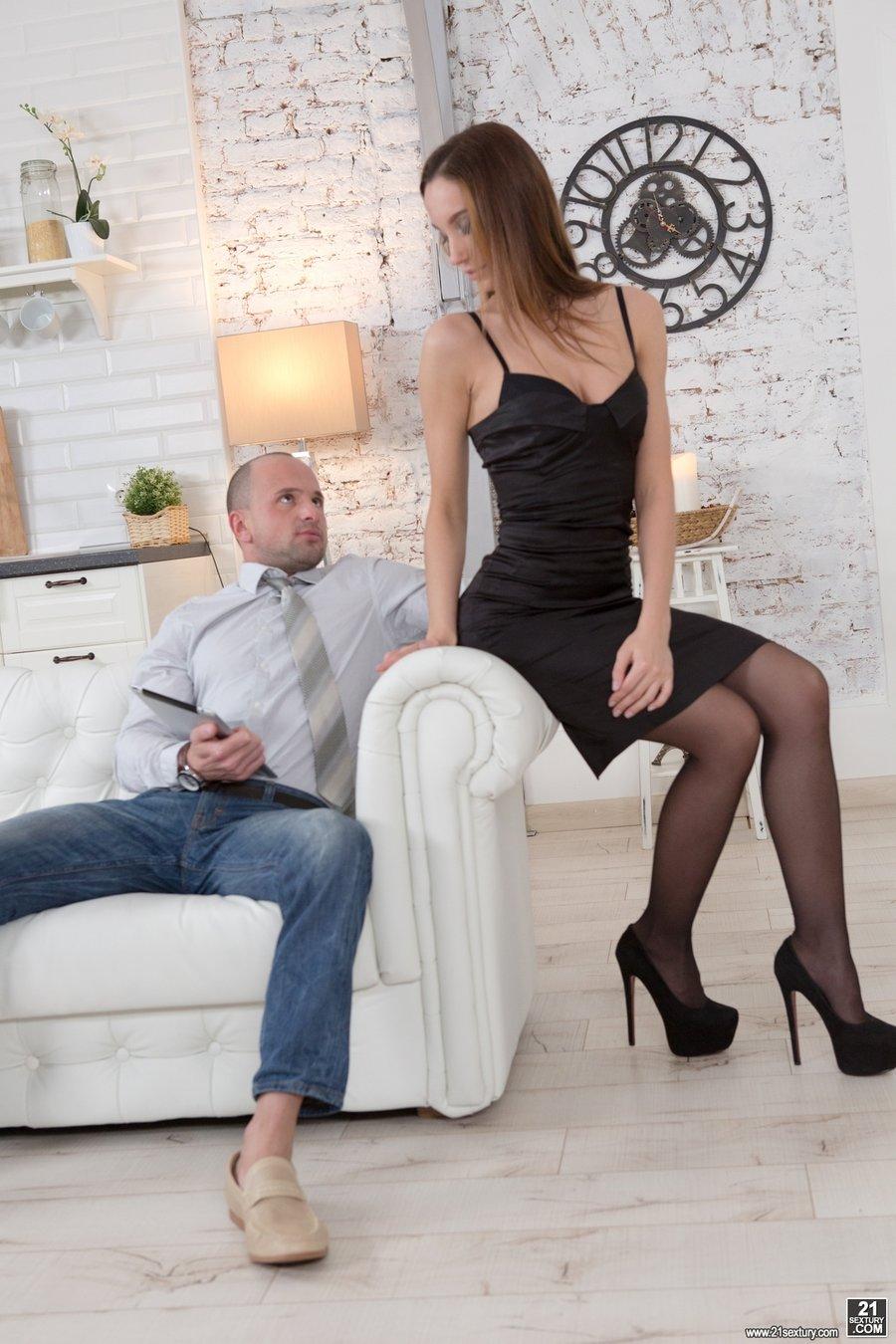 German Nylon High Heels