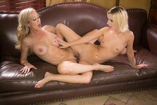 lesbian mature blonde canadian