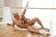 blonde petite ballerina