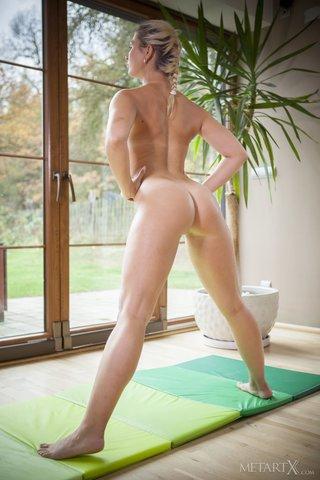 european nude yoga