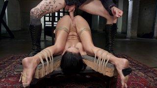 bdsm brunette torture