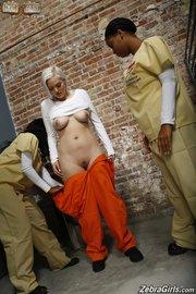 interracial prison lesbians