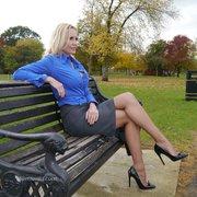 blonde legs high heels