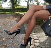 Long legs sexy high heels