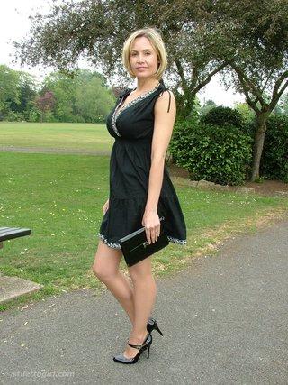 milf gorgeous heels