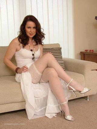virgin stockings high heels