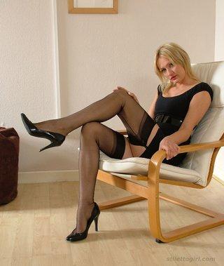 sexy gorgeous blonde