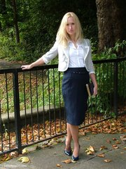 lovely high heels blonde