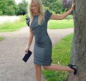 Naughty blonde feet
