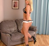 Real high heels blonde
