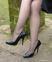 horny stockings heels