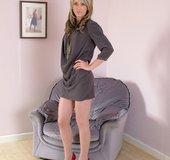 Real stockings heels
