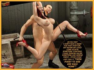 Sinful master violently spanks surprised - XXX Dessert - Picture 6