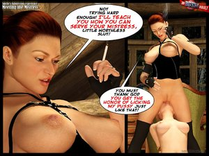 Submissive blonde gets down on her knees - XXX Dessert - Picture 6
