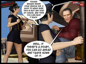 Naive policewoman gets banged and the nasty jerk who did it is about to heavily humiliate her - XXXonXXX - Pic 1