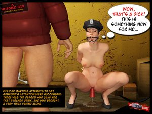 Naive policewoman gets banged and the nasty jerk who did it is about to heavily humiliate her - XXXonXXX - Pic 5